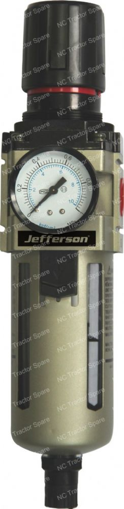 "1/2"" Outlet Filter Regulator c/w Gauge"